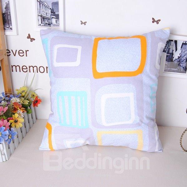 Fancy Modern Geometric Figure Free Style Throw Pillowcase