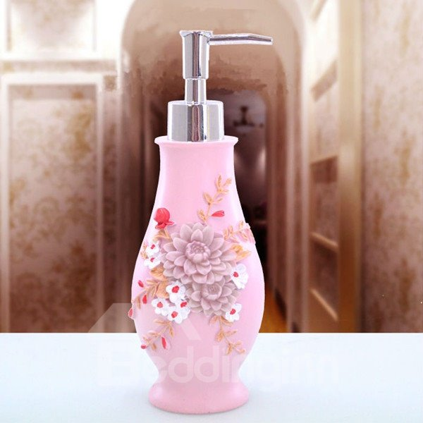 Unique Creative Design Daisy Image Lotion Bottle