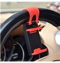 Simple Creative And Exquisite Fixed On Steering Wheel Cover Car Phone Holder