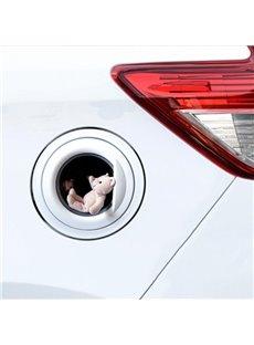 Cute Little Bear Fuel Tank Cap Car Stickers