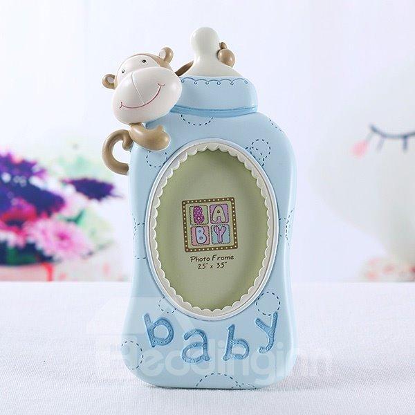 Super Cute Baby Bottle Resin Photo Frame