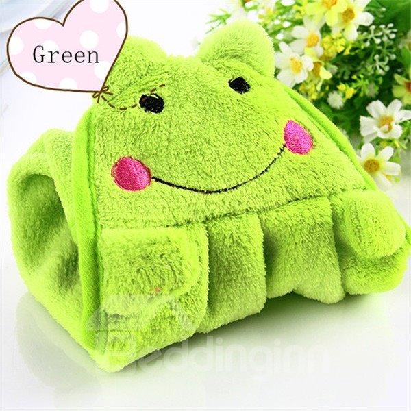Cute Super Bibulous Soft Coral Fleece Towels