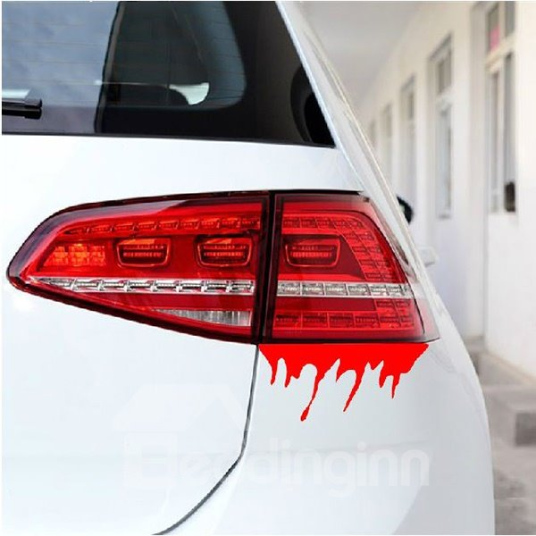 Super Creative Horrible Blood Shape Car Stickers