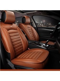 49 Luxurious Business Style Leather Classic Design Leather Universal Car  Seat Cover