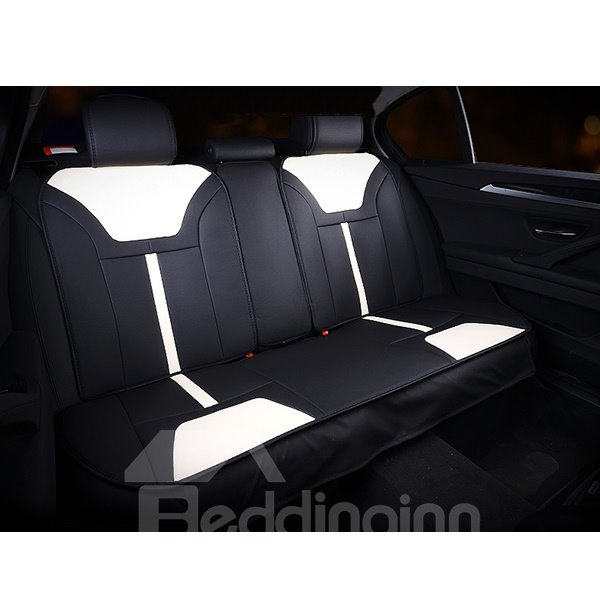fire new design matching with comfortable seating pu leather material car seat covers. Black Bedroom Furniture Sets. Home Design Ideas
