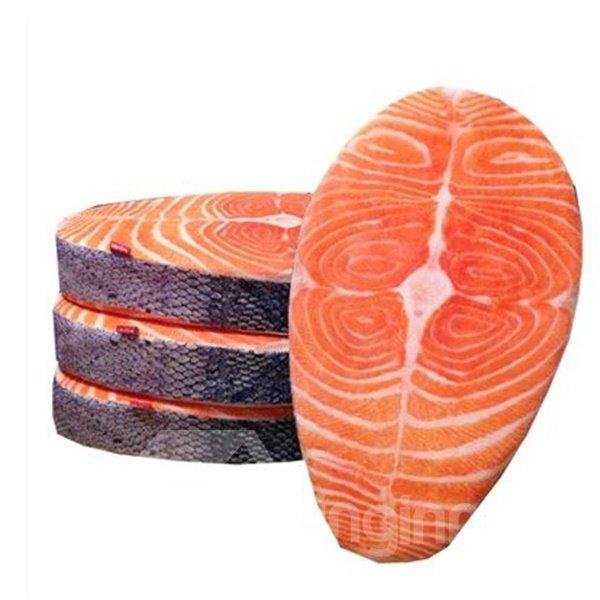 High Quality Creative Novelty Lifelike Salmon Pattern Cushion