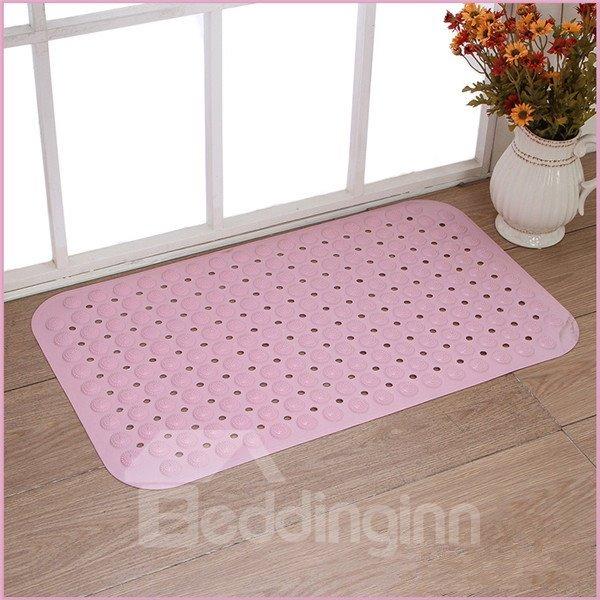Super Skid-resistant Back Waterproof Pure Color Bath Mats
