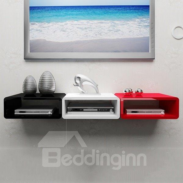 functional decorative wall mounted audio video console wall shelf rh beddinginn com Stereo Wall Shelving audio visual wall mount shelves
