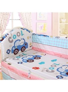 Cool Baby 5-Piece 100% Cotton Crib Bedding Set