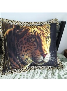 Hot Selling Powerful Leopard Print Pillow Case