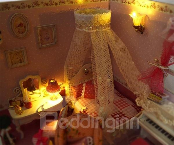 Elegant Sweet Princess Style with Sound Control DIY House