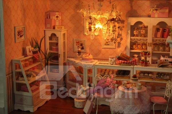Beautiful Stunning Personal DIY Coffee House With Sound Control Light