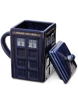 Creative Tardis Police Box Ceramics Coffee Mug