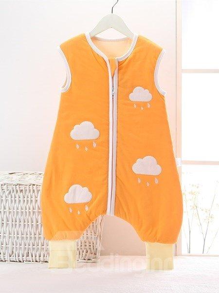 Super Cute Rainy Cloud Pattern Baby Sleeping Bag