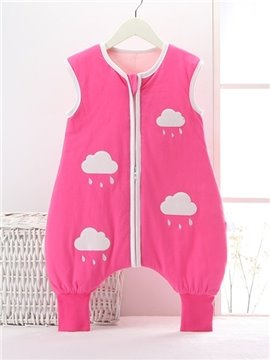 Super Cute Rainy Cloud Pattern Baby Sleeping Bag