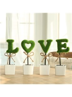 Romantic Creative 1-Set LOVE Artificial Flower Sets