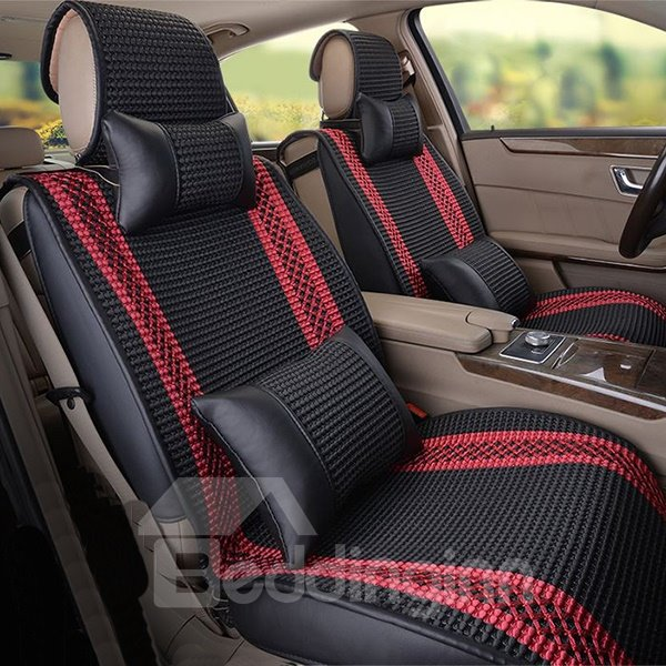 Vintage Design Lightweight Breathable Patterns Universal Fit Car Seat Covers