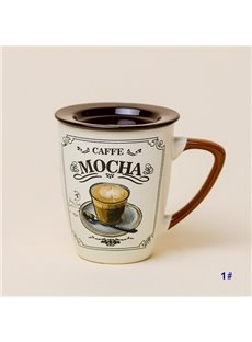 Creative Latte Mocha Expresso Cappuccino Ceramic Coffee Mug