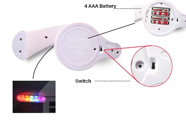 Romantic Fabulous Rainbow Projector LED Night Light