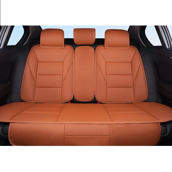 Simple Design Casual Styled Streamlined Universal Car Seat Covers