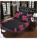 The Dissilient Flower in the Dark Design 5-Piece Comforter Sets