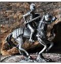 Elaborate Fantastic Design Knight with Horse Areware