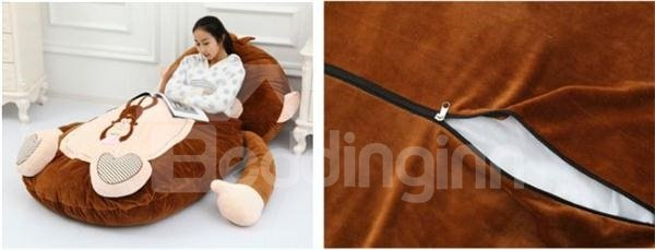 Adorable Oversized Super Soft Cute Monkey Sleeping Bag For Your Family