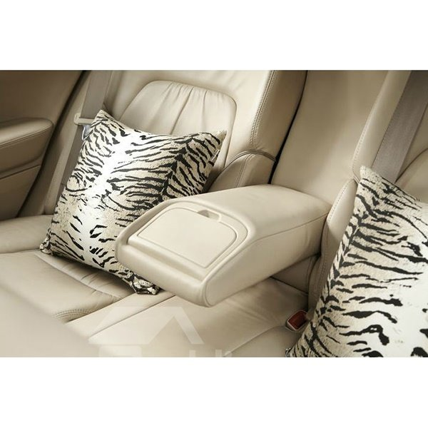 Creative Tiger Stripes Pattern Design Car Pillows