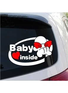Cute Baby Inside Warning Car Sticker