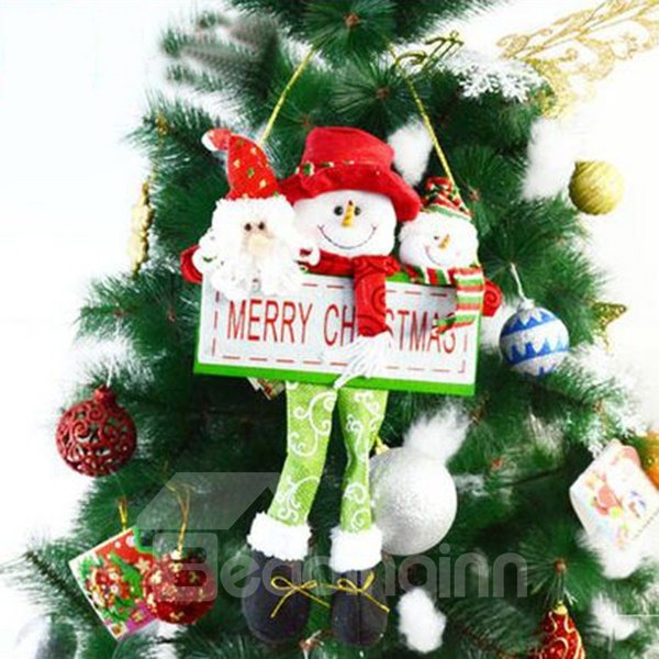 Cute Santa Clause Cartoon Christmas Decoration