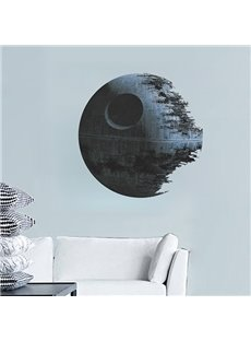 Creative Death Star in Star Wars Removable Wall Sticker