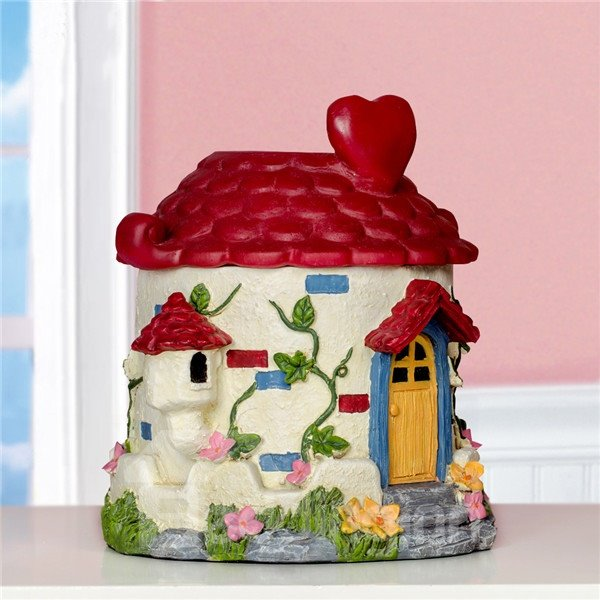 Dreamy House Pattern Resin Toilet Paper Holder