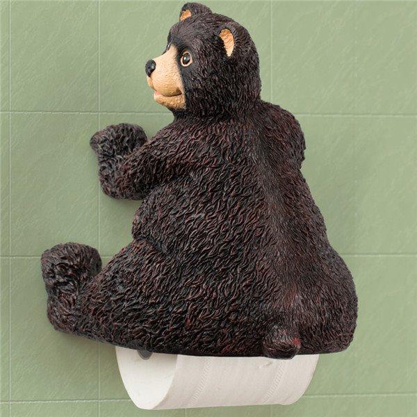 Top Grade Little Bear Novelty Toilet Paper Holder