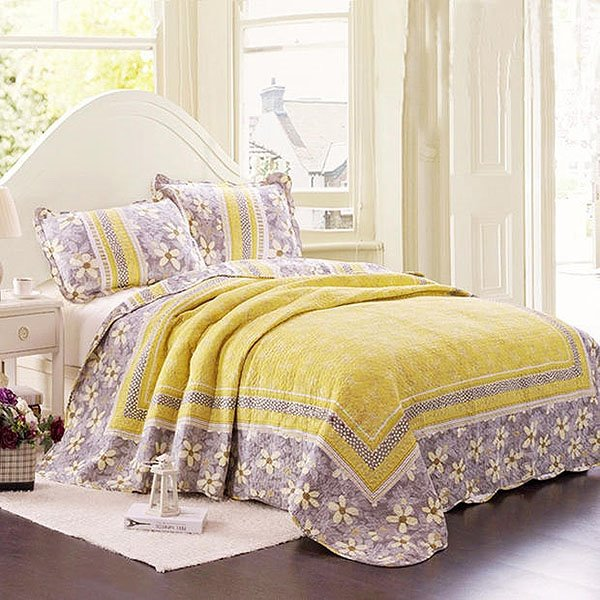 81 korean style fresh flowers lacework yellow bed in a bag