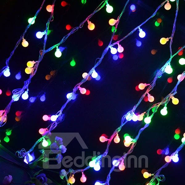 Flashing Cherry Bulb 10m Colorful Strip Light Many Colors to Choose