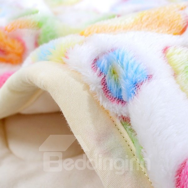 Super Warm Thickened Cotton Lining Baby Blanket