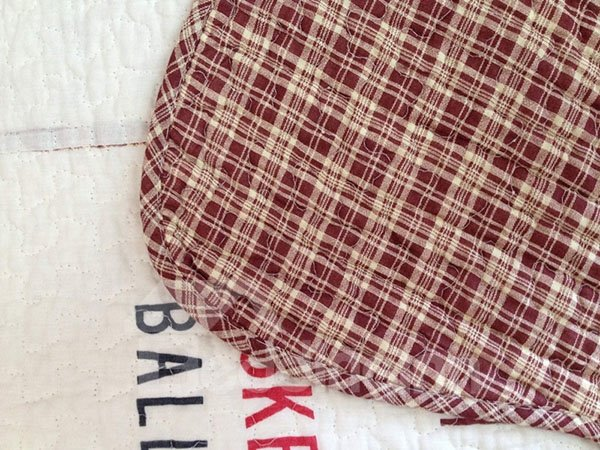 Cute Soccer Basketball Classical Plaid Cotton Bed in a Bag