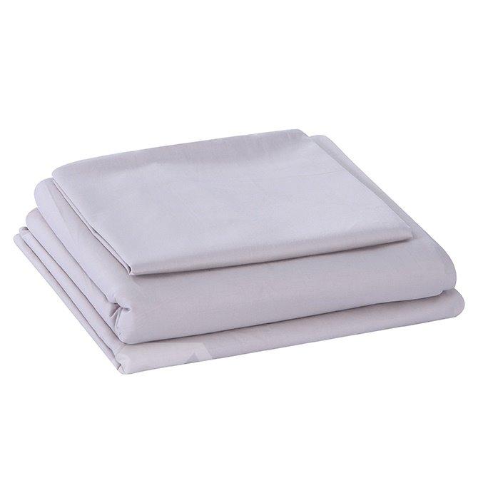 Super Soft Solid Color 4-Piece Cotton Duvet Cover Sets