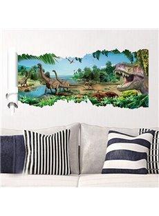 Amazing Fantasy Pre-Historic Jurassic Park 3D Wall Stickers
