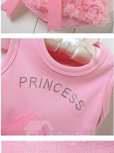 Pink Princess Style Baby Girl Ballet Skirt