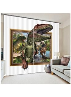 Amazing 3D Dinosaur Light Blocking Curtain