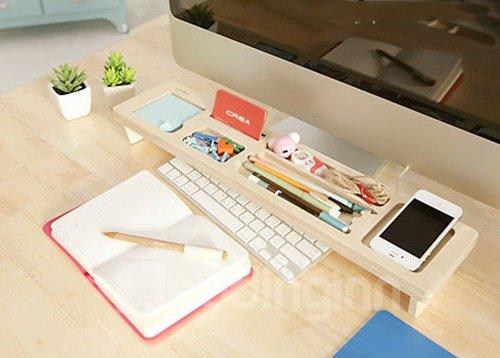 Versatile Desk Organizer Keyboard Shelf Desktop Decoration