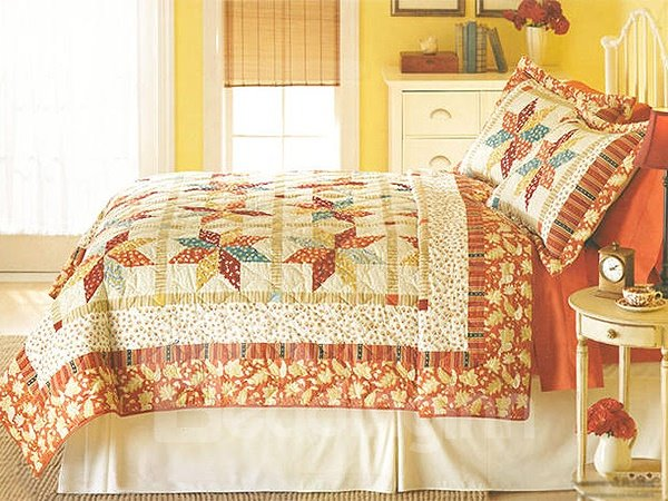 Super Comfy Geometric Figure Style Summer Quilt