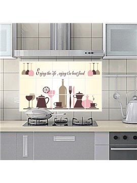 Creative Kitchen Cooking Utensil Removable Wall Sticker