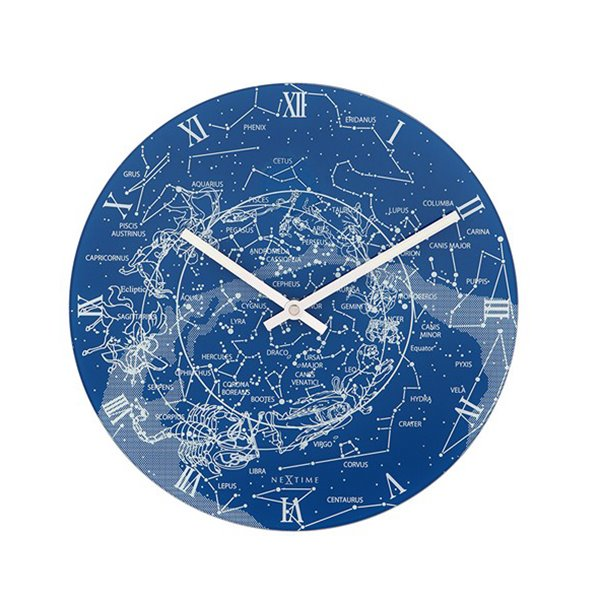 Amazing Luminous Milky Way Galaxy Quartz Wall Clock