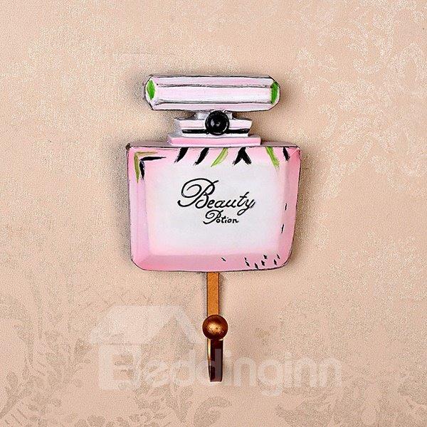 Lovely High-Heels and Perfume Design 1-Set Resin Wall Hooks