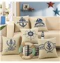 Super Fluffy Mediterranean Style Decorative Throw Pillow
