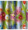 Resplendent Sea of Flowers Design 3D Shower Curtain