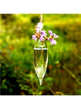 Creative Sharp Ends Glass Hanging Flower Vase