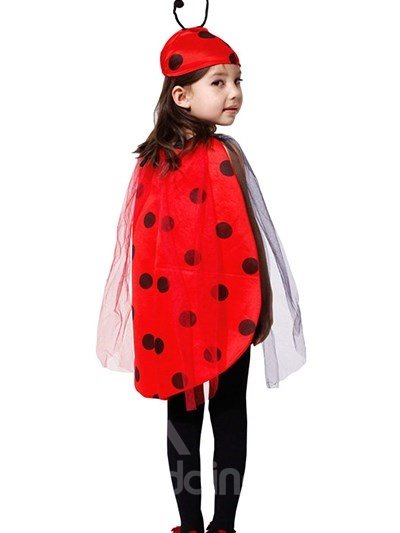 Classic Halloween Lovely Ladybird Girl